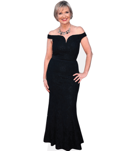 Carol Kirkwood (Black Dress)