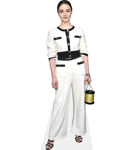 Aisling Franciosi (White Outfit)