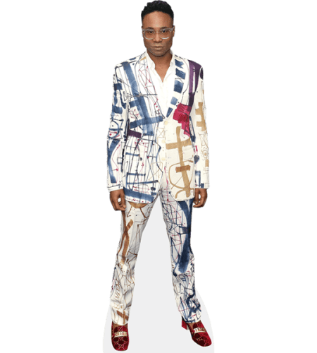 Billy Porter (Colourful Suit)