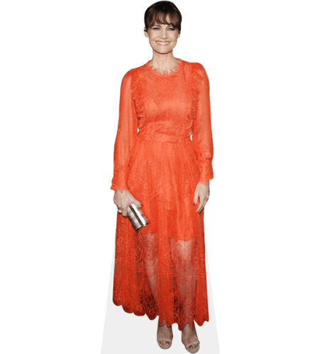 Carla Gugino (Orange Dress)