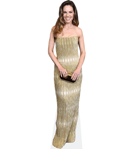 Hilary Swank (Long Dress)