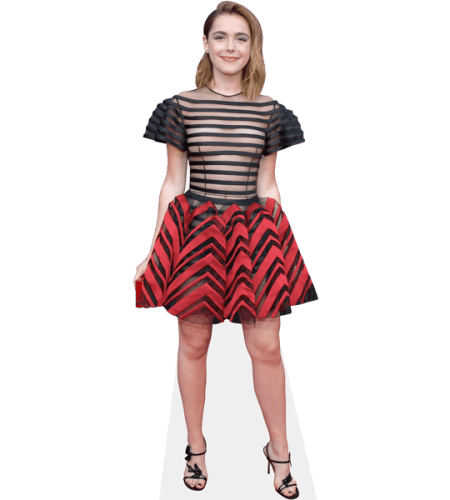 Kiernan Shipka (Red Skirt)