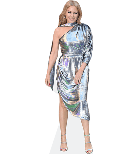 Kylie Minogue (Silver Dress)