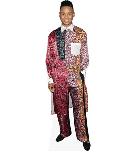 Ryan Jamaal Swain (Colourful Suit)