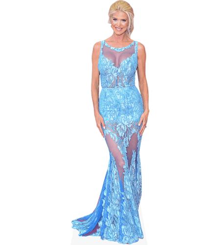 Victoria Silvstedt (Blue Dress)