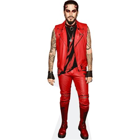 Adam Lambert (Red Outfit)