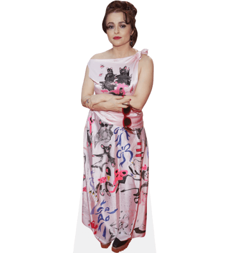 Helena Bonham Carter (Pink Dress)