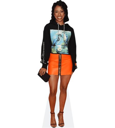 Liza Koshy (Orange Skirt)