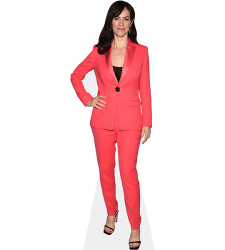 Maggie Siff (Pink Suit)