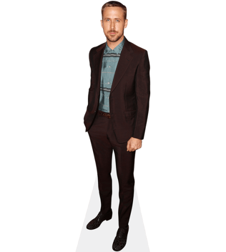 Ryan Gosling (Burgundy Suit)