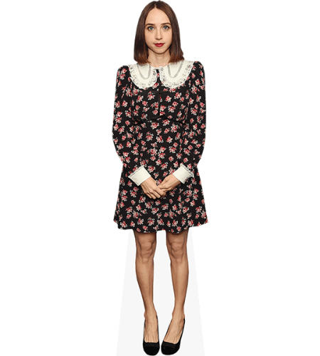 Zoe Kazan (Floral Dress)