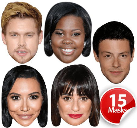 Glee Cast Mask Pack