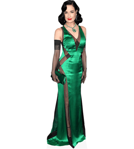 Dita Von Teese (Green Dress)