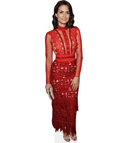 Torrey DeVitto (Red Dress)