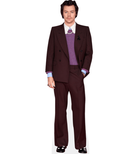 Harry Styles (Burgundy Suit)