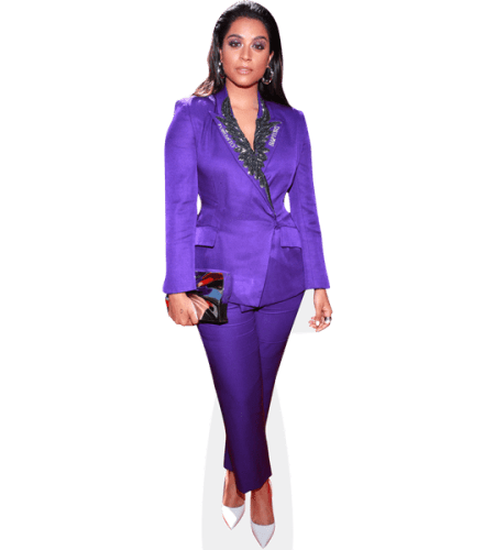 Lilly Singh (Purple Suit)