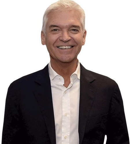 Phillip Schofield (Black Jacket) Cardboard Buddy Cutout