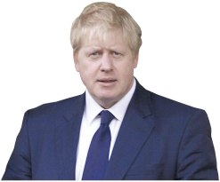 Boris Johnson Cardboard Buddy Cutout