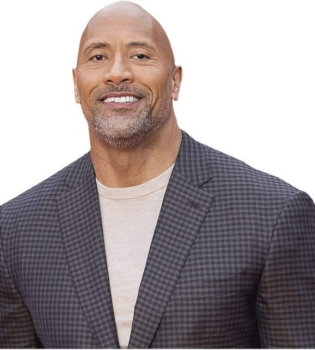 "Dwayne ""The Rock"" Johnson (Checked Suit) Cardboard"