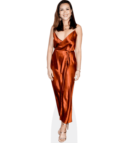 Diana Chan (Copper Dress)