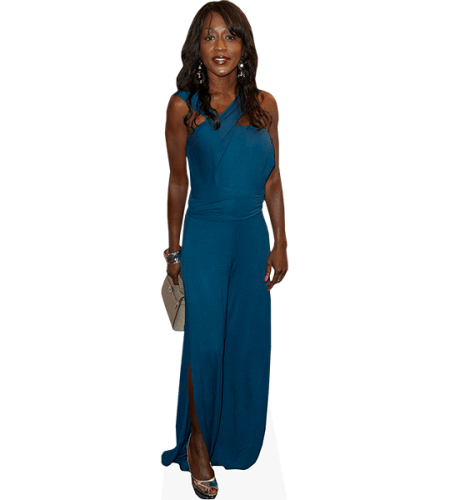 Diane Parish (Blue Dress)