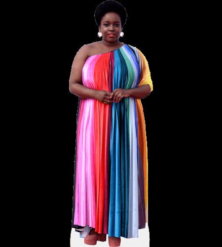 Lolly Adefope (Long Dress)