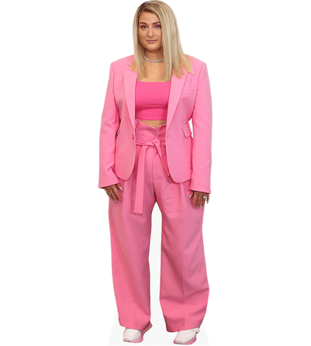Meghan Trainor (Pink Outfit)