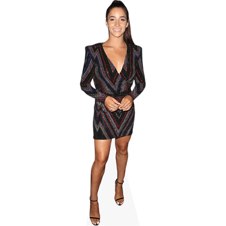Aly Raisman (Short Dress)