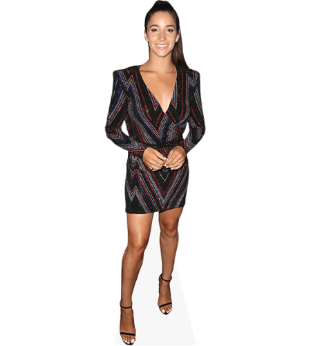 Aly Raisman (Short Dress)