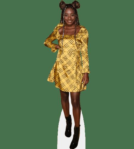 Imani Hakim (Gold Dress)