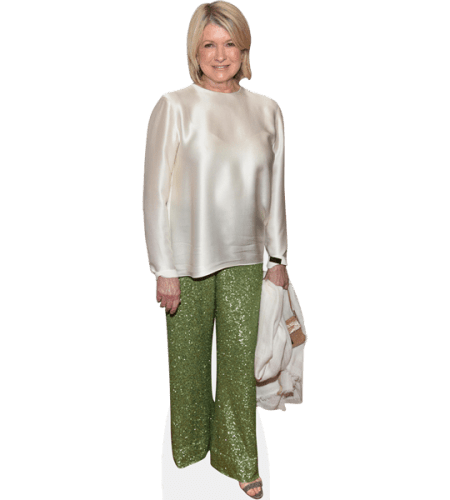 Martha Stewart (Green Trousers)