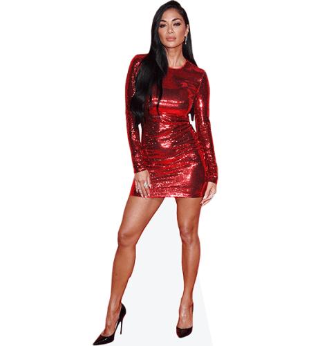 Nicole Scherzinger (Red Dress)