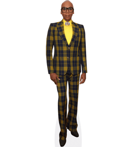 RuPaul (Checkered Suit)
