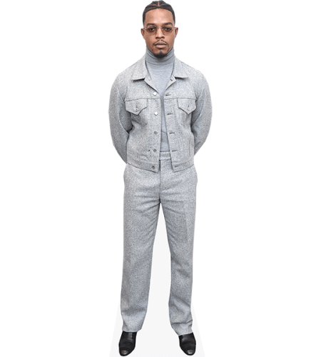 Stephan James (Grey outfit)