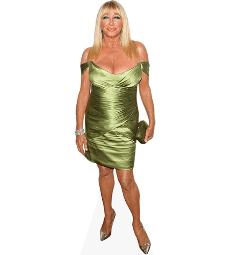 Suzanne Somers (Green Dress)