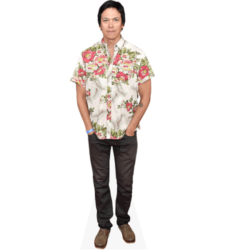 Chaske Spencer (Flower Shirt)