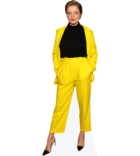 Jella Haase (Yellow Outfit)