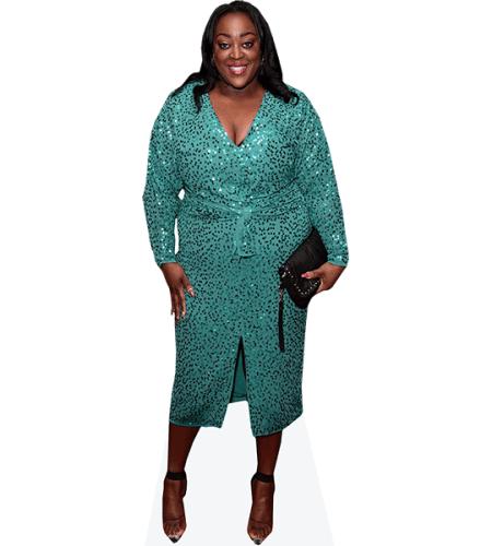Judi Love (Green Dress)