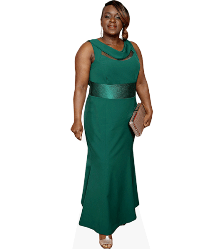 Tameka Empson (Green Dress)