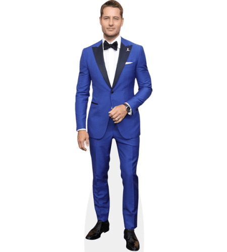 Justin Hartley (Blue Suit)