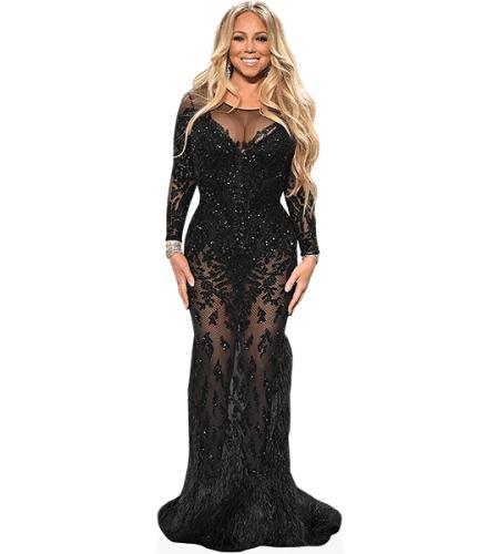 Mariah Carey (Black Dress)