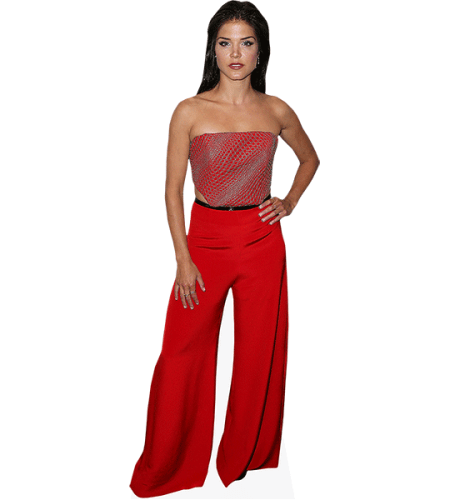 Marie Avgeropoulos (Red Outfit)