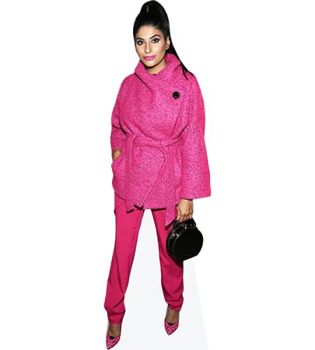 Farhana Bodi (Pink Outfit)