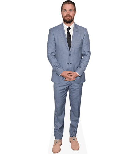 Stephen Amell (Blue Suit)