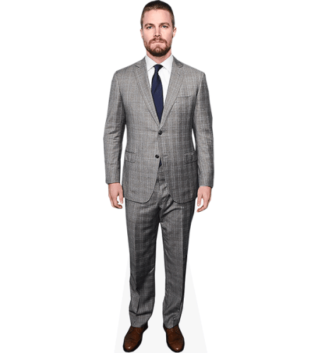 Stephen Amell (Grey Suit)