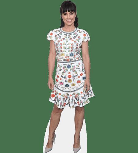 Constance Zimmer (White Dress)