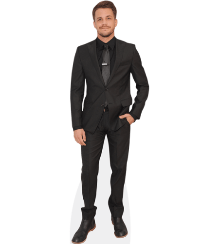 Johnny Simmons (Suit)