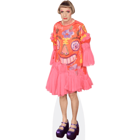 Grayson Perry (Pink Dress)