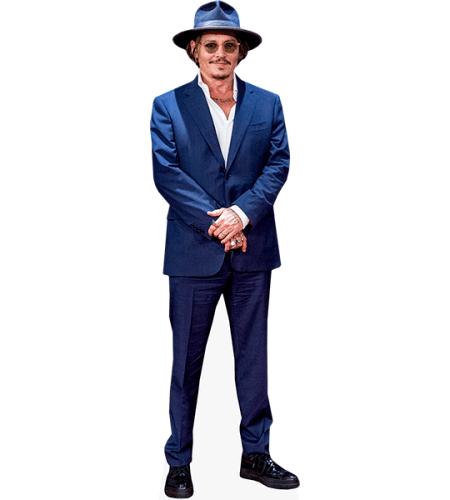 Johnny Depp (Blue Suit)