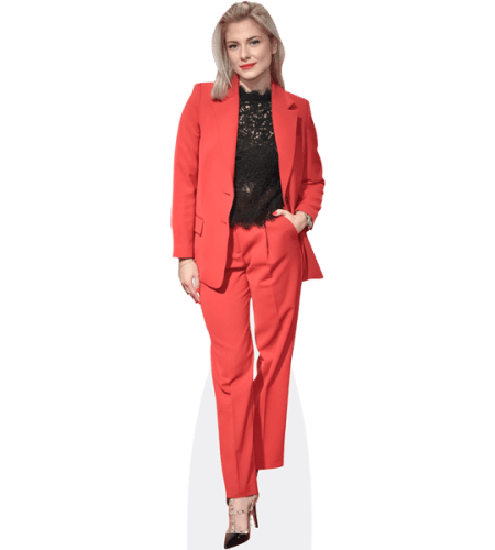 Valentina Pahde (Red Suit)